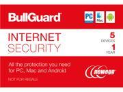 BullGuard Internet Security 5 Device / 1 Year